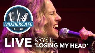 Krystl - 'Losing My Head' live bij Muziekcafé
