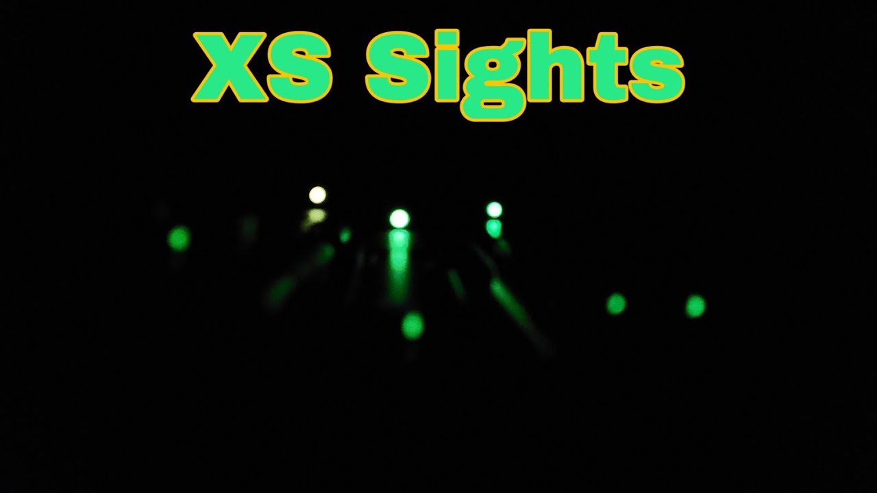 XS SIGHTS: 3 Perfect Choices