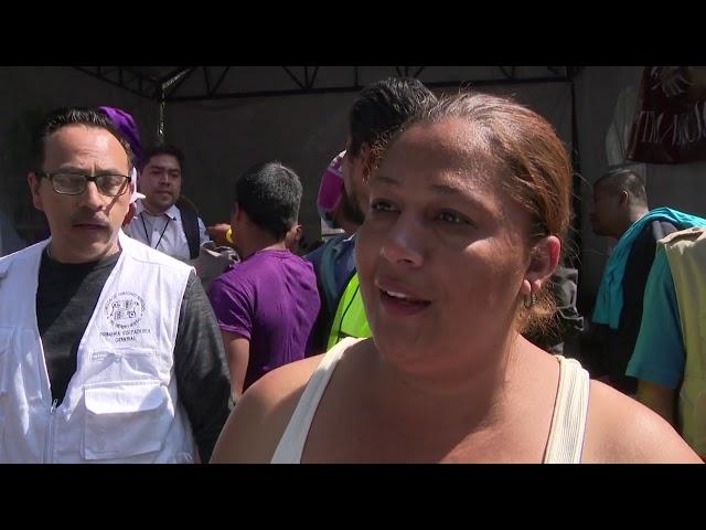 Los pasos de las caravanas migrantes por México en 2018