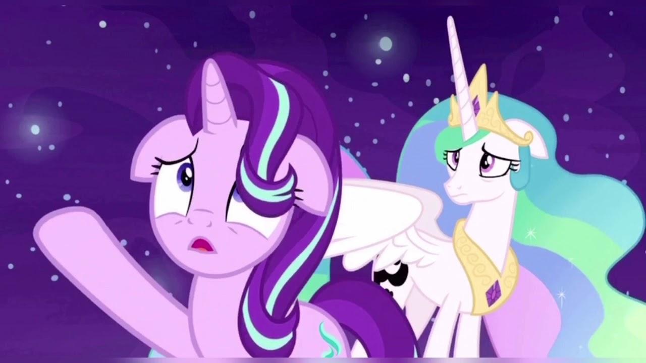 7 сезон 10 серия млп: Принцесса Селестия и Луна 🌑 - YouTube