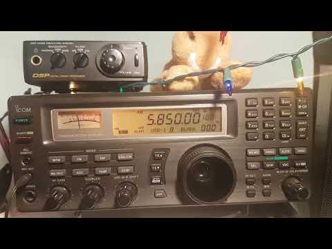 Radio Prague via WRMI 5850 Khz Shortwave 2330 UT
