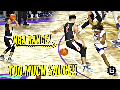 Download Youtube: White Chocolate Jordan McCabe STRAIGHT COOKIN' on The BIGGEST HS Basketball Stage! Brings The SAUCE!