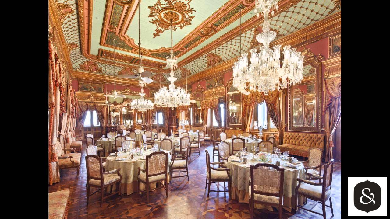 Taj Falaknuma Palace, Hyderabad, India - YouTube
