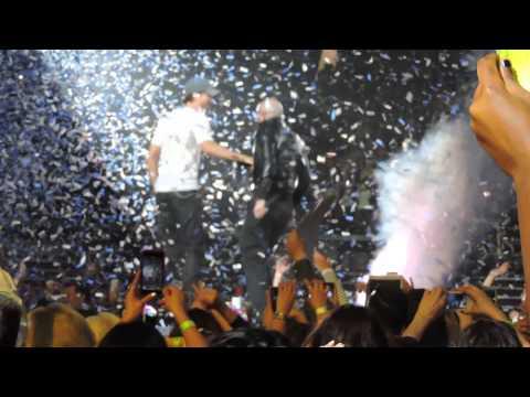 Enrique y pitbull Concert Lubbock TX