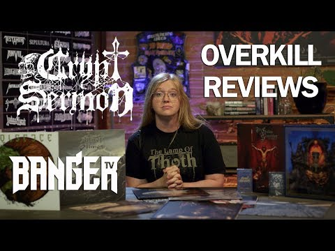 CRYPT SERMON - The Ruins of Fading Light | Overkill Reviews