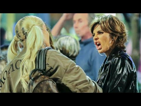 Lisa Rinna and Erika Fight in Berlin