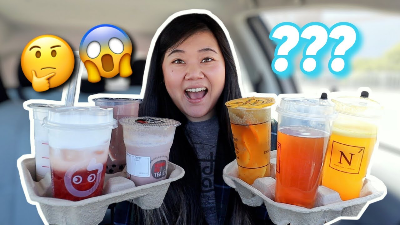 Letting BOBA SHOP Workers DECIDE My BOBA DRINKS! (bc they know the best ones right??)