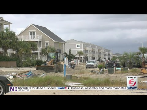 Ocean Isle Beach Faces An Uphill Climb After Week Of Devastation