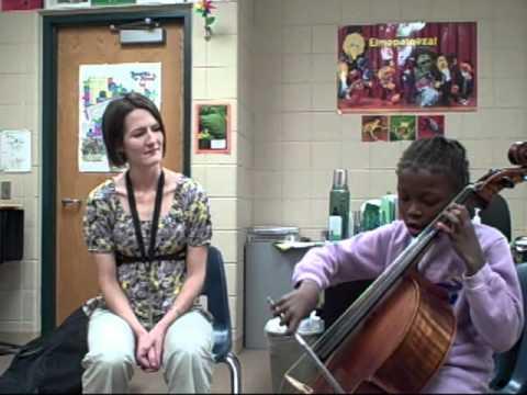 Harriet Bishop Elementary School strings program