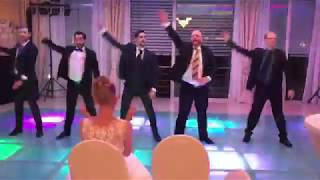 groomsmen wedding dance backstreet boys  nsync 02.06.2017