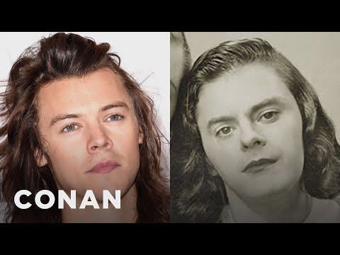 Bill Hader In Drag Looks Like Harry Styles  - CONAN on TBS