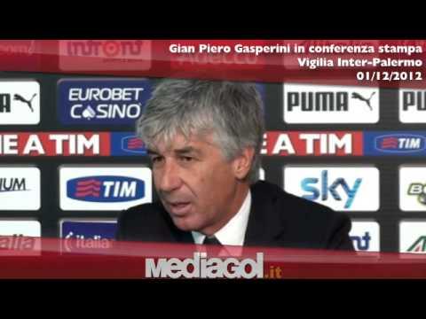 Conferenza stampa integrale Gian Piero Gasperini vigilia Inter-Palermo - Mediagol.it