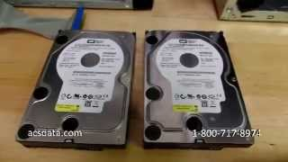 PCB Swap Data Recovery Attempt On Western Digital Hard Drive