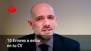 10 errores que evitar en tu CV (Javier Caparrós) #GeneracionEncontrada
