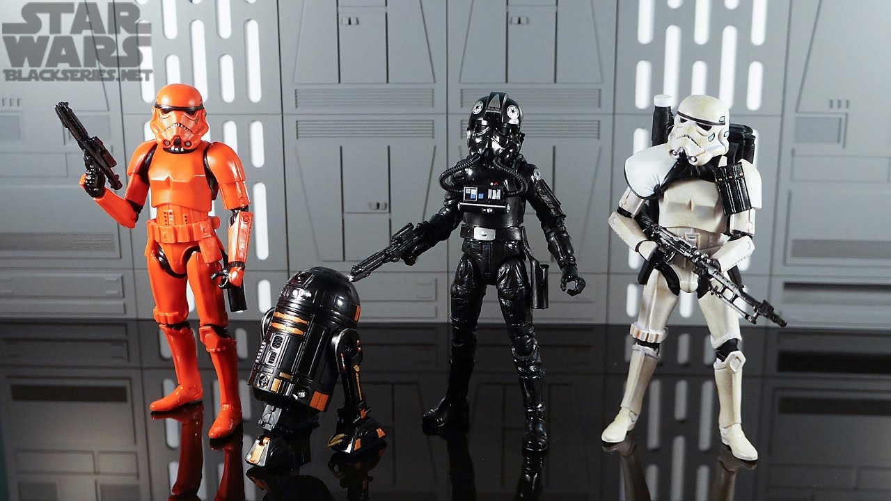 Star Wars The Black Series Imperial Forces Entertainment Earth Exclusive Figure 4-Pack Toy Review