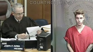 Justin Bieber kommt gegen Kaution frei