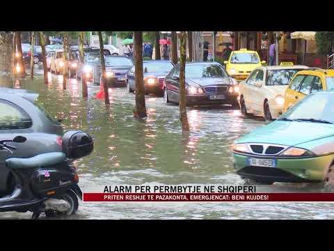 Jepet alarmi, priten përmbytje në Shqipëri - News, Lajme - Vizion Plus