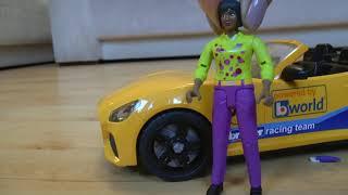 Эвакуатор мультик для мальчиков Проколотое колесо - Мультфильм про машинки игрушки для детей