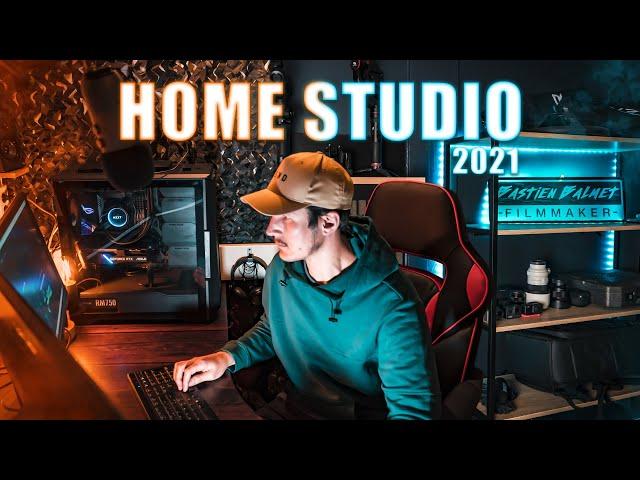 HOME STUDIO 2021 - Je TRANSFORME mon appartement en studio YouTube !