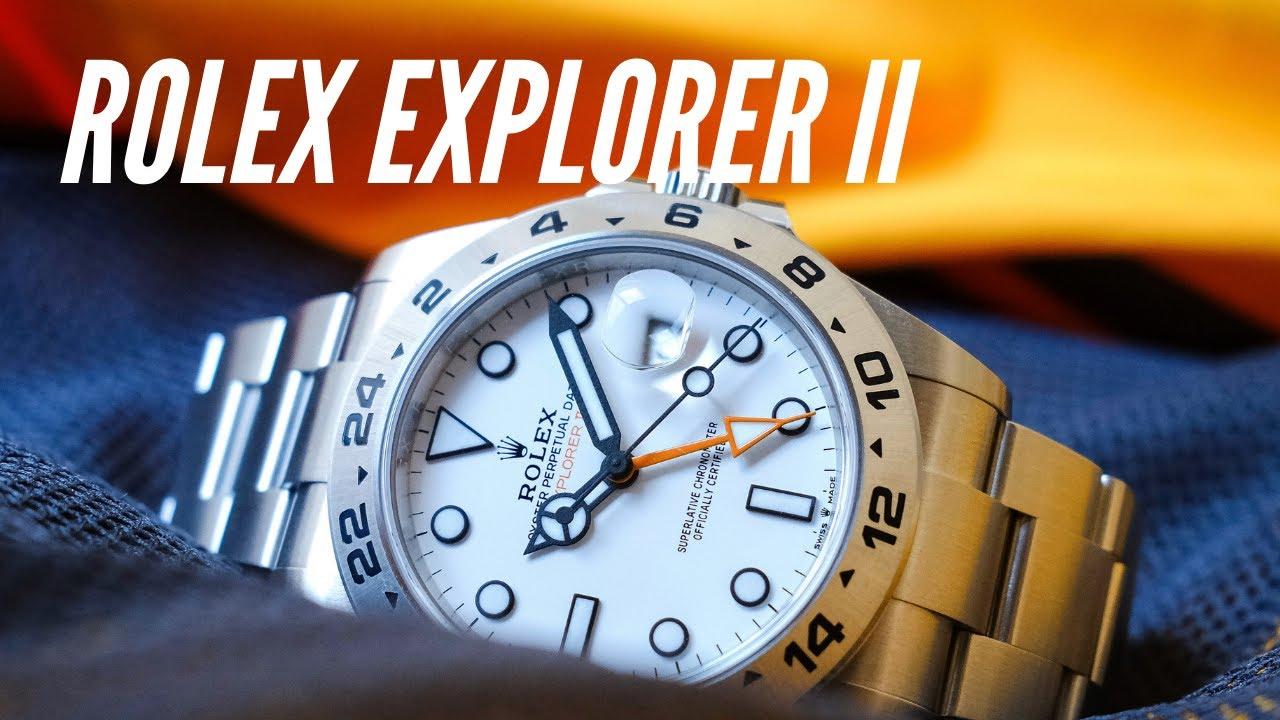 A história do Rolex Explorer II