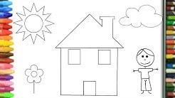 Bahan Gambar Anak Tk Ruang Tamu Mewarnai Gambar Ruang Tamu Untuk Anak Tk Warna Warni Gambar