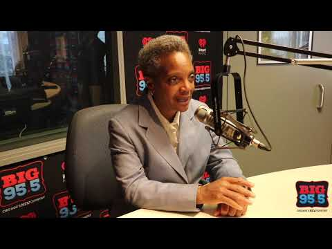 Community Blog - Chicago Mayor Lori Lightfoot Interviews with Lisa Dent on BIG 95.5