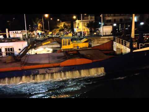 Ship Crashes Into Dock