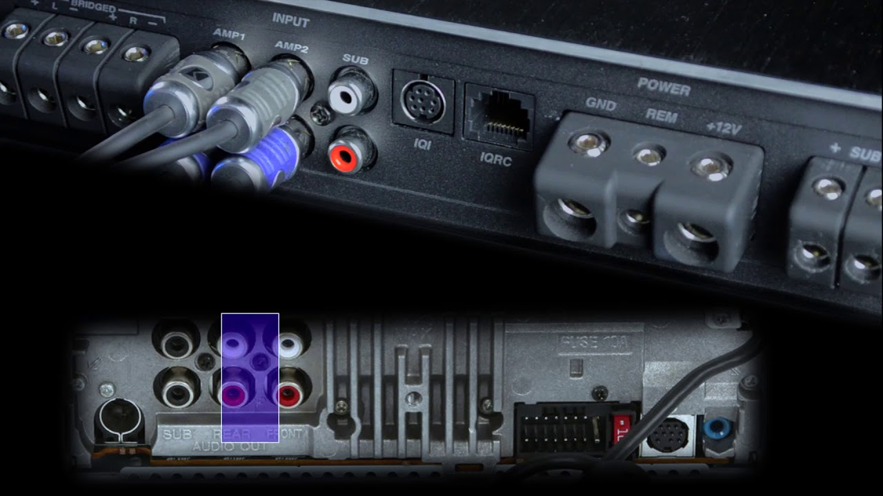 KICKER IQ Amplifier Basic Setup