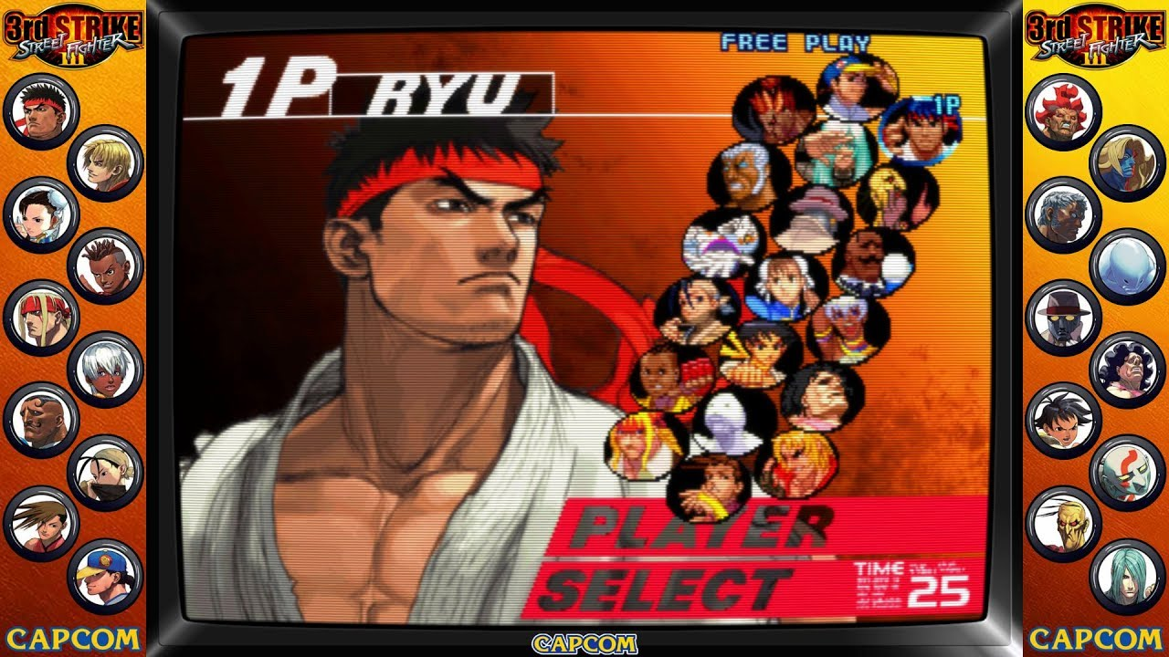 New Bezel: Street Fighter III: 3rd Strike