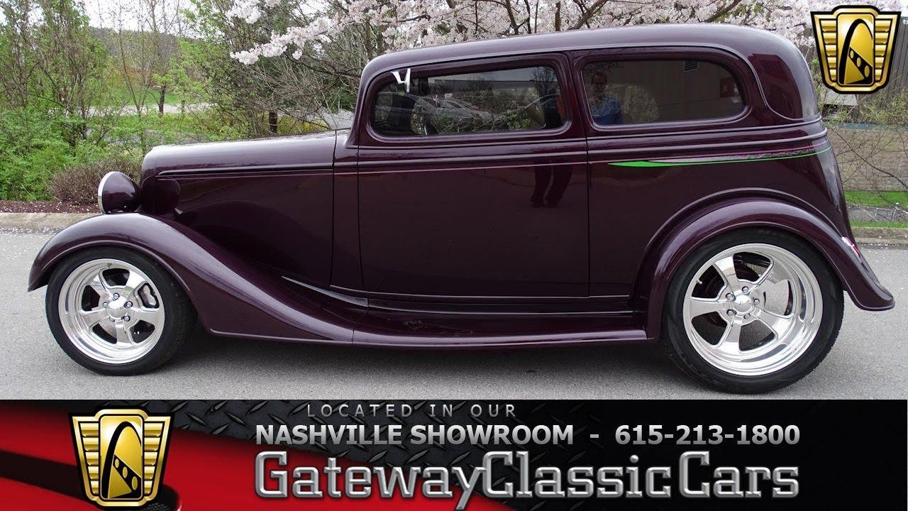 1934 Chevrolet Vicky Sedan, Gateway Classic Cars-Nashville#1056
