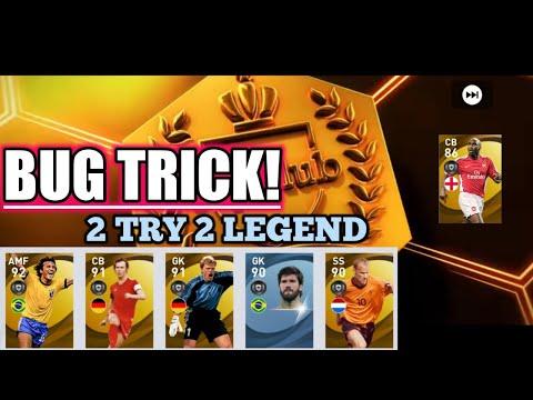 Bug!! Legend trick