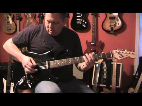 Squier Strat With Two Tele Neck Pickups Youtube