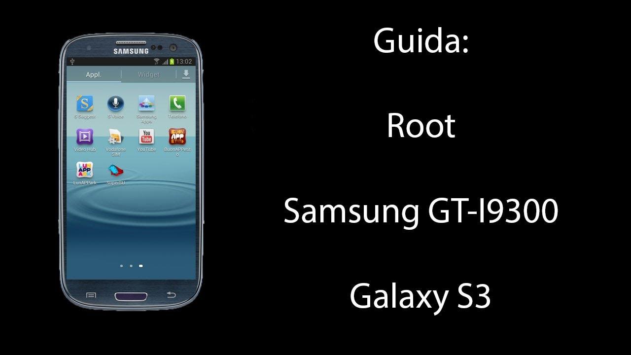 Gt I9300 Root
