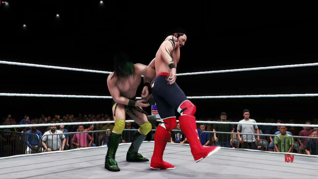 Download HCW VIRTUAL Chris Dice VS Maverick a hcw fő bajnoki övért