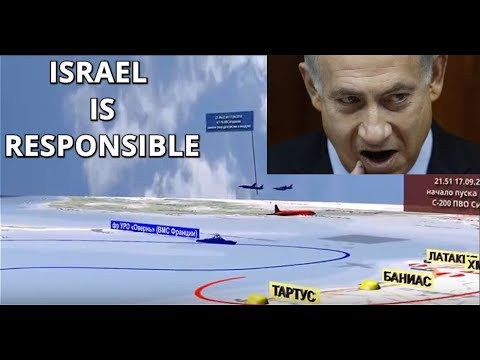 BREAKING: Russian MoD Shows 3D video of Il-20 Downing By Israeli Scam