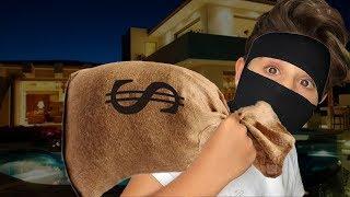 BANK ROBBERY ?!