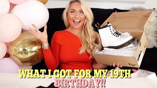 What I got for my 19th birthday & birthday GRWM!