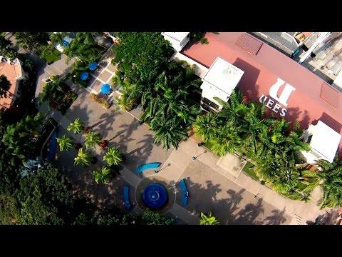 Vista aérea de la UEES con drone