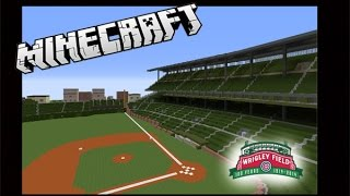 Minecraft Wrigley Field: Chicago Cubs (Download)
