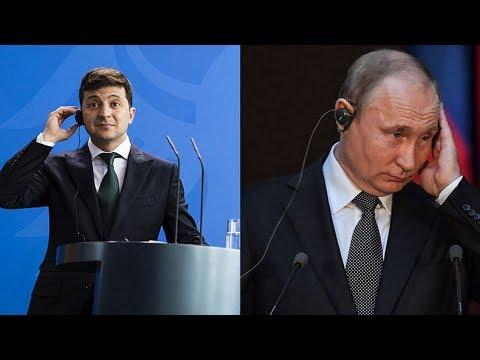 Ukraine's President Zelensky offers to meet Putin in Minsk