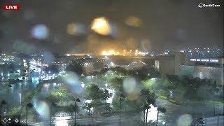 Hurricane Irma - Tampa Florida  LIVE.