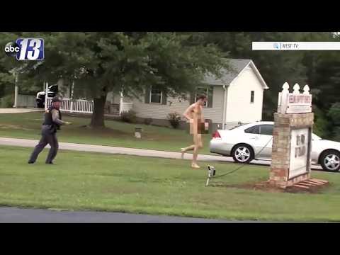 El autor del crimen que conmocionó EE UU, detenido desnudo intentando estrangular a un hombre