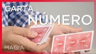 El famoso truco de la carta al número - Truco de magia con cartas Explicado