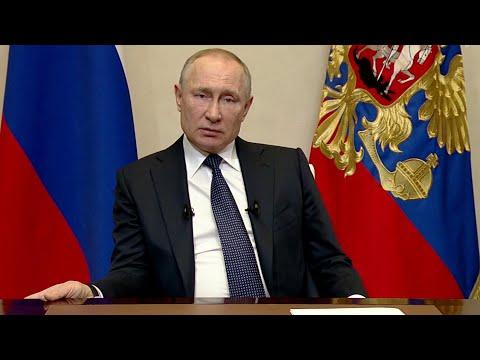 Владимир Путин обозначил меры поддержки россиян в условиях пандемии коронавируса.