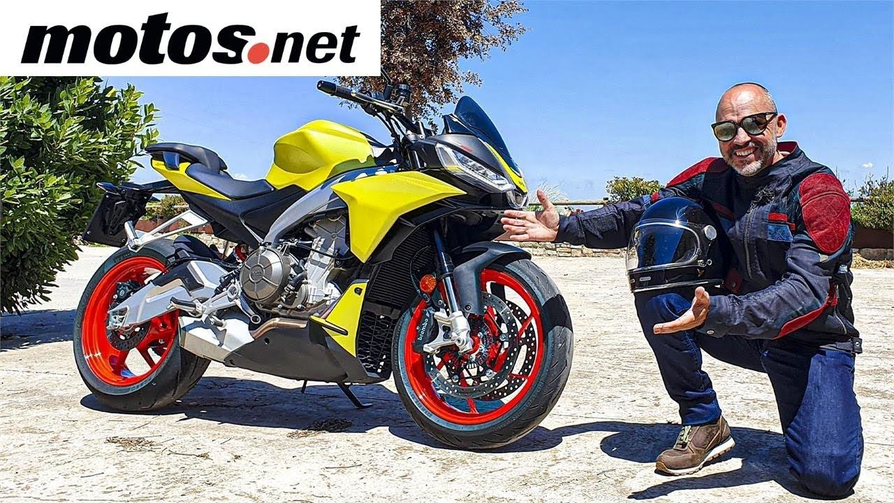 Aprilia Tuono 660 2021 | Prueba / Test / Review en 4K | motos.net