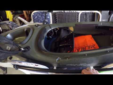 Kayak Setup- Old Town Vapor 10 Sit In For Bass Fishing.
