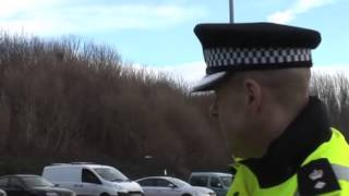 Merseyside Police show the Echo how they use Automatic Number Plate Recognition cameras
