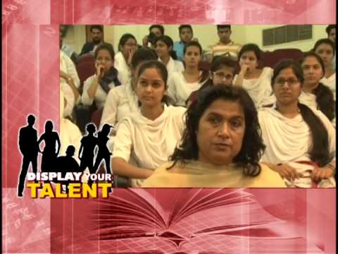 Jammu University Display your talent 24- 9 -2013