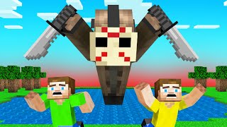 I HUNTED JELLY And CRAINER As JASON! (Minecraft)