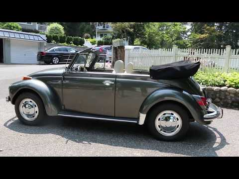 1971 Volkswagon Super Beetle Convertible For Sale